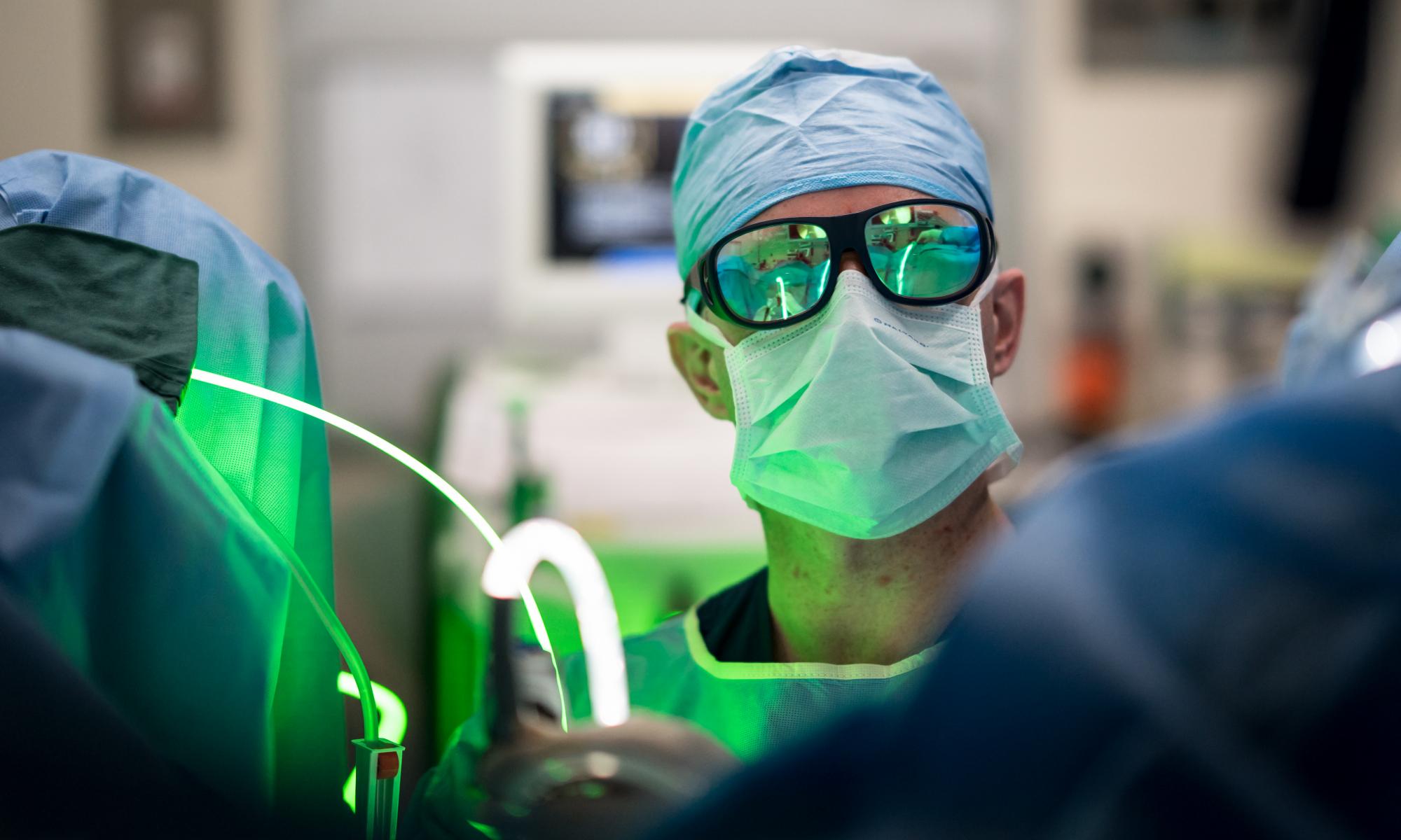 Peter Campell - Urology - Greenlight laser